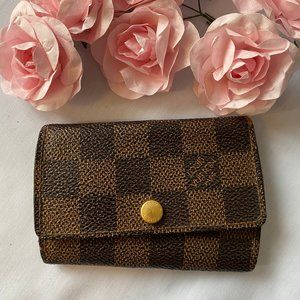 Louis Vuitton Damier Multicles 6 Ring Key Case